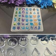 DIY Silicone Earring Mold Mould Making Jewelry Ornament Resin Casting Craft
