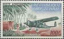 Timbre Avions Tchad PA12 ** lot 25344