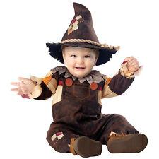 Baby Toddler Scarecrow Costume Kids Halloween Pumpkin Harvest Fancy Dress Outfit