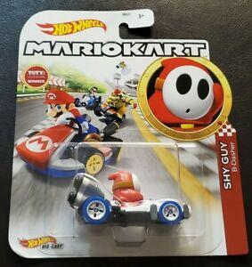 Shy Guy B-Dasher - Mario Kart Character Cars - Hot Wheels (2020)
