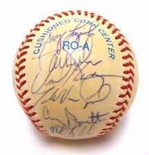 Mark McGwire Tony LaRussa Dave Henderson 1993 Signed Autograph Oakland A's Ball