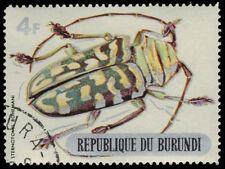 """BURUNDI 312 (Mi543) - Beetles """"Sternotomis bohemani"""" (pa74443)"""
