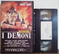 VHS FILM Ita Drammatico I DEMONI dostoevskij 126 MIN ex nolo no dvd(VH33)