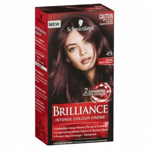 Schwarzkopf Live Brilliance 49 Dark Red Hair Colour