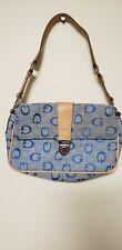GUESS Blue Beige Clutch Handbag
