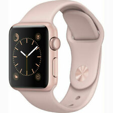 Reloj de Apple serie 2 42mm Oro Rosa Estuche-Rosa Correa De Deporte