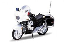 "Welly Bike Motorcycle 1/18 BMW R 1100 RT US Police Version California 4.3"" New"