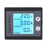 AC 80-260V 10A LCD Monitoring Multimeter Ammeter Voltmeter Power Monitor Tester