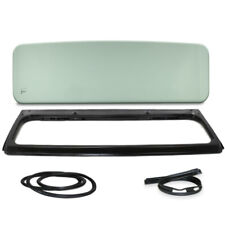 New Green Windshield Glass with Frame, Cowl & Glass Seal For Jeep CJ5 1976-1983