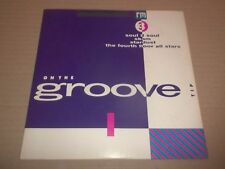 """RECORD MIRROR : ON THE GROOVE TIP 1 ~ 7"""" EP SINGLE SOUL II SOUL / SKAM ....EX/EX"""