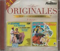 NEW- 2 EN 1 Los Originales El Rescate De La Buena Folklore Vol.3 SHIPS NOW!