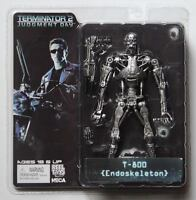 "NECA TERMINATOR 2 Judgment Day T-800 Endoskeleton 7"" Action Figure Toy Gift"