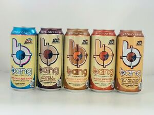 Bang Energy Keto Coffee Protien drink Variety 12 pack