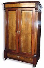 Armario #629 * Louis Philippe * para 1850 * nussbaum * b128 x t55 x h203 cm