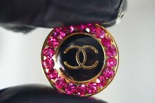 100% Chanel button 1 pieces   metal cc logo 21 mm 0,8 inch 💔💔💔