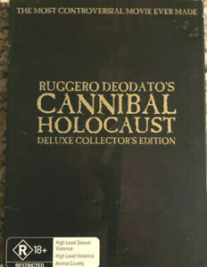 CANNIBAL HOLOCAUST - Deluxe Collector's Edition Two Disc Set DVD
