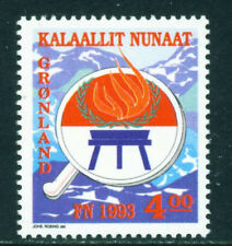 Greenland 1993, Flame, International Year of Indigenous Peoples, UNM / MNH