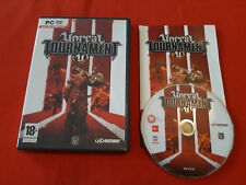 UNREAL TOURNAMENT U EPIC GAMES PC DVD-ROM PAL COMPLET