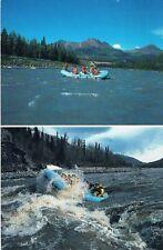 Postcard Alaska USA Wasser Sport Rafting Canyoning Boot boat Schlauchboot AK pc