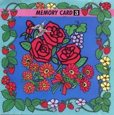 Memory Card 3: Flower Series Janome Images Cartridge for Embroidery Machine
