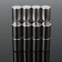 10 x 15 mm superstarke Rundzylinder Magnete seltenen Erden Neodym 5pcs N50