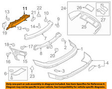 AUDI OEM 07-15 Q7 Rear Bumper-Lower Support 4L0807329