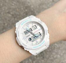Casio Baby-G * BAX100-7A G-Lide Anadigi White Resin Watch for Women COD PayPal