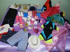 LARGE LOT of MODERN BARBIE + Ken DOLL CLOTHES, SHOES & Red Riding Hood Cape