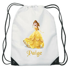 Belle Drawstring PE Bag Personalised swimming shoes Gym