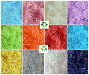 Luxury Hamper Shred - Soft Recyclable Shredded Tissue Paper - Gift Box Packaging