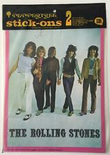 1969 Peppertree Stick-ons , Rolling Stones, Rascals, Sealed