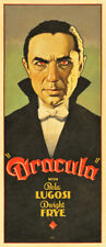 "Dracula Movie Poster Replica 8.5 x 19"" Photo Print"