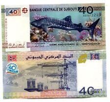 GIBUTI - DJIBOUTI 40 francs 2017 Commemorative FDS - UNC