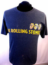 Rolling Stones 2005 T Shirt Spell Out Logo TShirt Grey Tie Dye M DISTRESSED