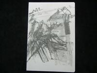 Motiv 14 Joseph Beuys Granolithographie  1975