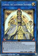 EXFO-EN091 Curious, the Lightsworn Dominion Super Rare UNL Edition Mint YuGiOh C