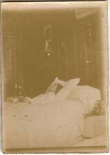 PHOTO ANCIENNE - VINTAGE SNAPSHOT - POST MORTEM MORT DÉFUNT - DEAD DEATH 1920