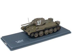 Tank T-34-76 URSS (1942) 1/43 - IXO Deagostini Char Militaire Diecast TA1