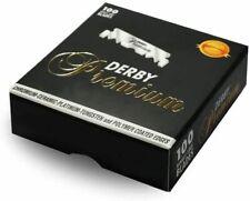 Derby 100 Lamette Da Barba Derby Premium Black X Rasoio Mano Libera Da Barbiere