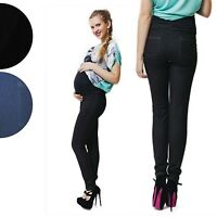 Maternity Skinny Trousers Jeggings Jeans Pregnancy Over Bump SIZES