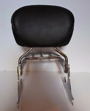 Harley Davidson Detachable Sissy Bar And Pad With Luggage Rack