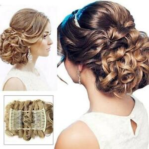 Easy to use : Clipped Pin Up bun - perfect for weddings / parties