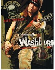 2004 WASHBURN Idol Series Electric Guitar NICK CONOTESE of BLS Vtg Print Ad