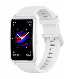 HONOR Watch ES weiß Smartwatch Bluetooth Huawei AMOLED Kunststoff wasserdicht