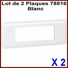 75023 LEGRAND Ancien Mosaic,Lot 10 Triples Plaques,,3 grands ou 6 petits Modules