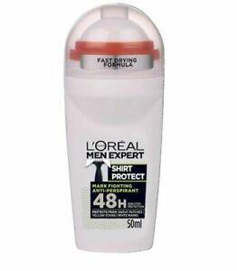 L'Oreal Men Expert Roll On Deodorant 48H SHIRT PROTECT 50 ml