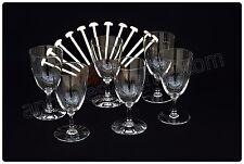 Série de 6 verres à eau en cristal de Baccarat modèle Comtesse de Paris