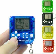 Retro Handheld Tetris Pong Mini Game Keyring save phone battery fidget stress