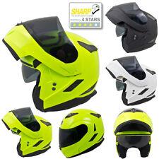 MT Flux Flip Up Front DVS Motorbike Motorcycle Helmet Sharp 4 Star Pinlock Ready