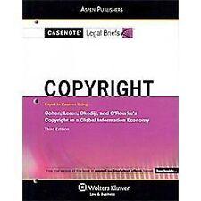 Casenote Legal Briefs: Copyright Law : Cohen Loren Okediji and O'Rourke's Copyri